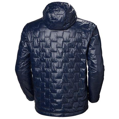 Helly Hansen Lifaloft Hooded Insulator Jacket - Navy - Rear