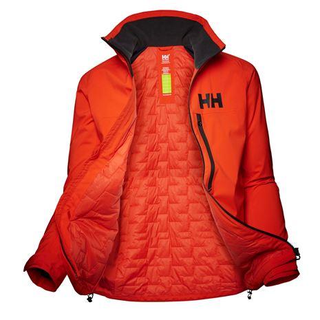 Helly Hansen Womens HP Racing Midlayer Jacket - Cherry Tomato