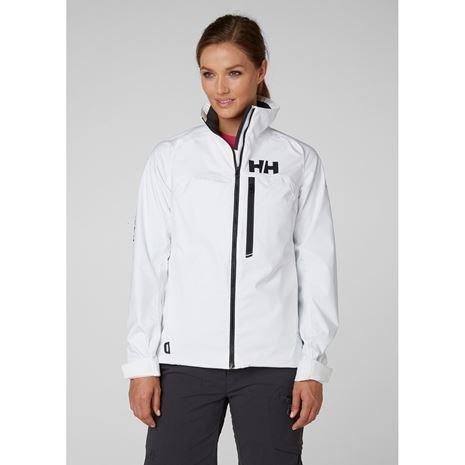 Helly Hansen Womens HP Racing Midlayer Jacket - White