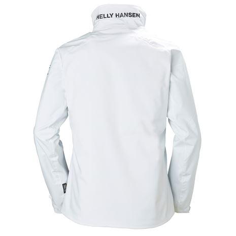 Helly Hansen Womens HP Racing Midlayer Jacket - White - Rear