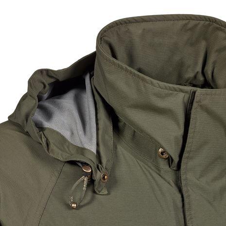 Musto Fenland BR2 Packaway Jacket - Dark Moss - Hood