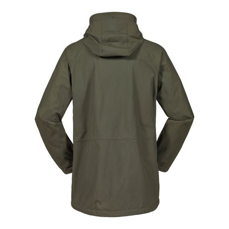 Musto Fenland BR2 Packaway Jacket - Dark Moss - Rear