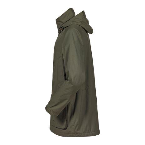 Musto Fenland BR2 Packaway Jacket - Dark Moss - Side
