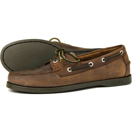 Orca Bay Creek Gents Deck Shoes in Russet.