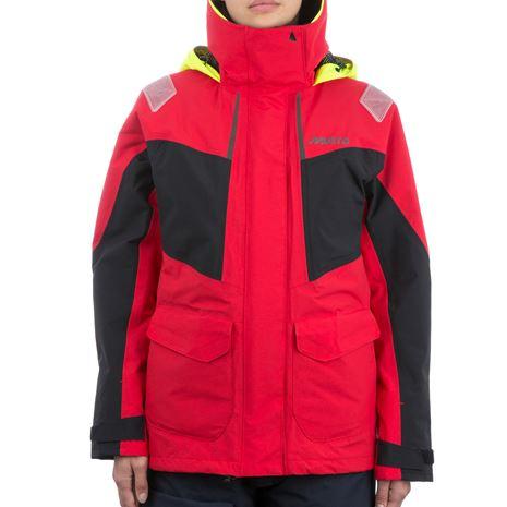 Musto Women's BR2 Coastal Jacket - True Red/Black
