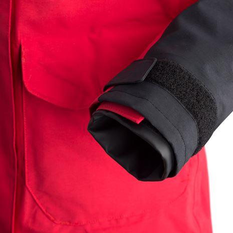 Musto Women's BR2 Coastal Jacket - True Red/Black - Cuff