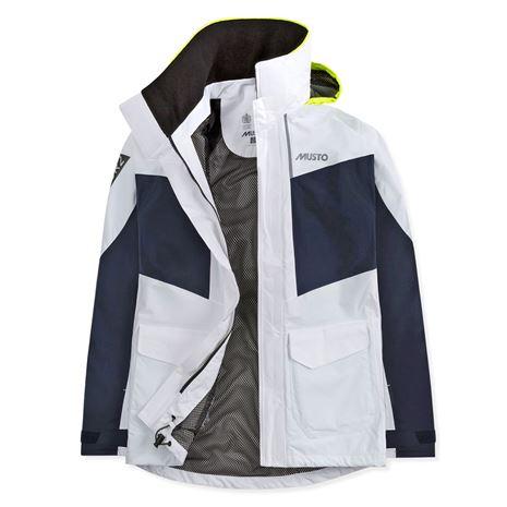 Musto Women's BR2 Coastal Jacket - White/True Navy