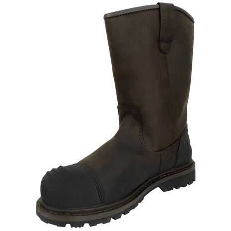 Hoggs of Fife Thor Safety Rigger Boots - Crazy Horse Brown