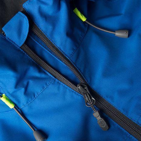 Gill Men's Navigator Jacket - Blue - Zip detail