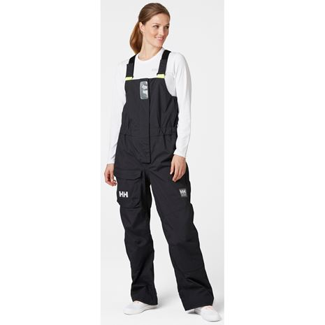 Helly Hansen Womens Pier 3.0 Bib - Ebony
