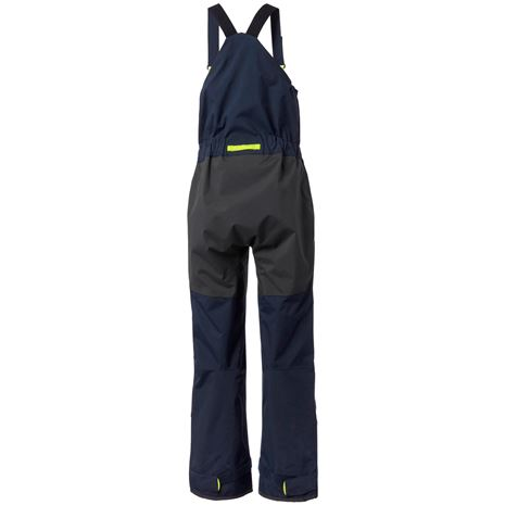 Helly Hansen Womens Pier 3.0 Bib - Navy - Rear