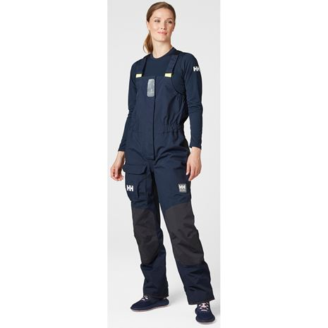 Helly Hansen Womens Pier 3.0 Bib - Navy