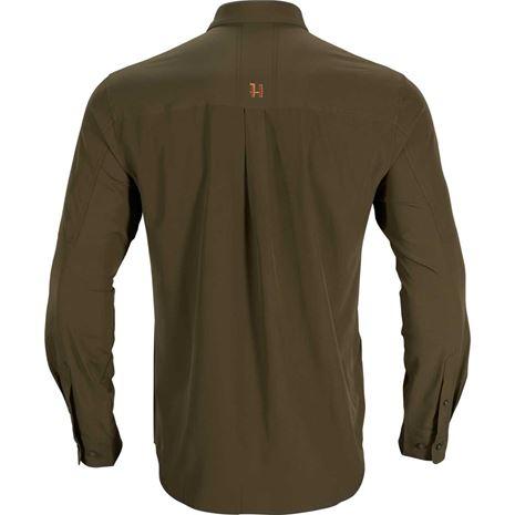 Harkila Trail L/S Shirt - Willow Green - Rear