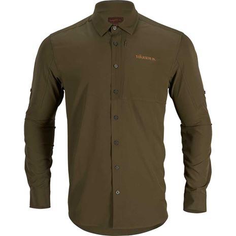 Harkila Trail L/S Shirt - Willow Green