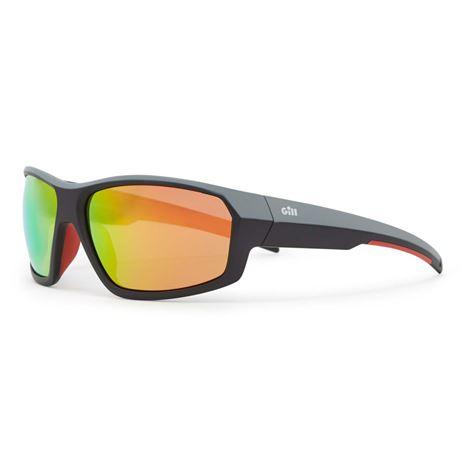 Gill Race Fusion Sunglasses - Tango/Orange Mirror