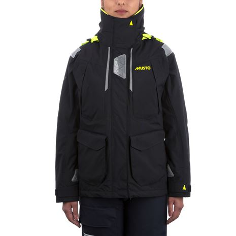 Musto Women's BR2 Offshore Jacket - Black/Black