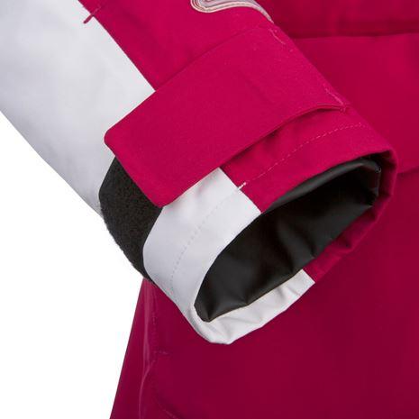 Musto Women's BR2 Offshore Jacket - Cerise/White - Cuff