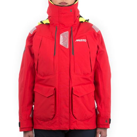 Musto Women's BR2 Offshore Jacket - True Red/True Red