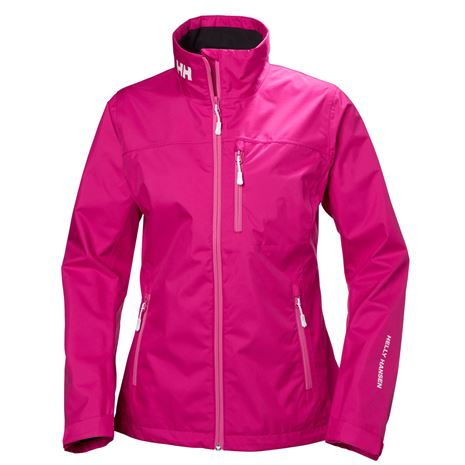 Helly Hansen Womens Crew Jacket - Dragon Fruit