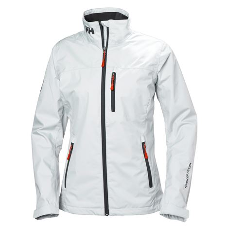 Helly Hansen Womens Crew Jacket - White