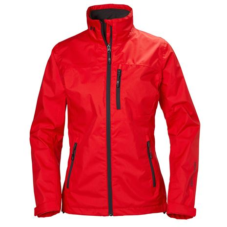 Helly Hansen Womens Crew Jacket - Alert Red