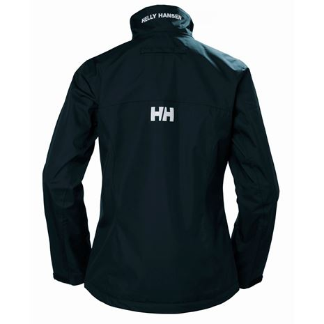 Helly Hansen Womens Crew Jacket - Navy - Rear