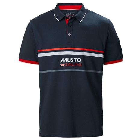 Musto Amalfi Polo Shirt - Navy