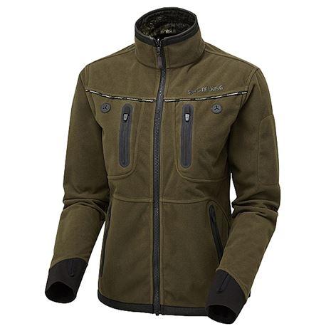 ShooterKing Women's Woodlands Softshell Jacket - Willow Green inner lining