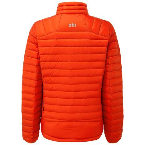 Gill Women's Hydrophobe Down Jacket - Orange - Rear