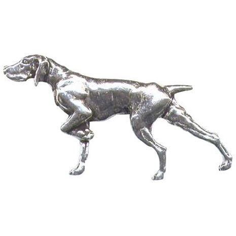 A.R & T.S Brown Dog Pewter Pins