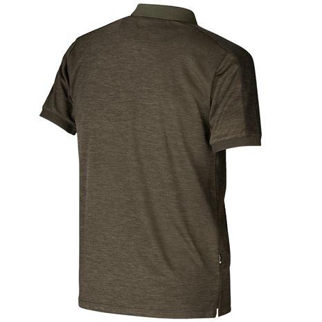 Harkila Tech Polo Shirt - Willow Green - Rear
