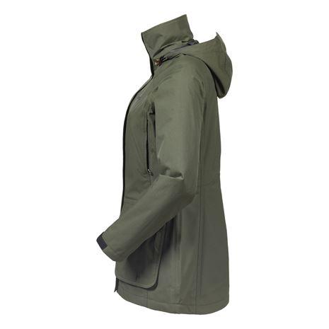 Musto Women's Fenland BR2 Packaway Jacket - Dark Moss - Side