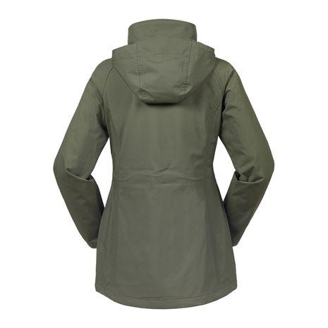 Musto Women's Fenland BR2 Packaway Jacket - Dark Moss - Rear