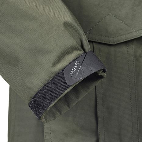 Musto Women's Fenland BR2 Packaway Jacket - Dark Moss - Cuff
