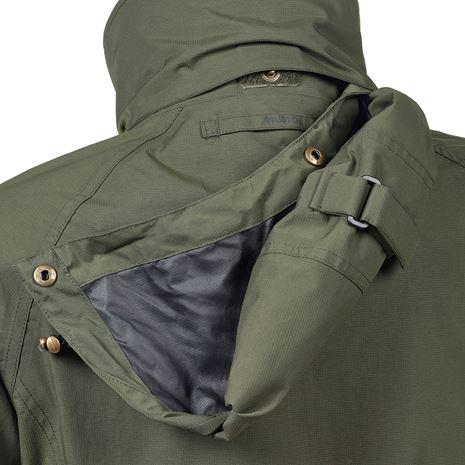Musto Women's Fenland BR2 Packaway Jacket - Dark Moss - Hood