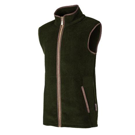 Baleno Highfield Men's Fleece Gilet - Green Khaki