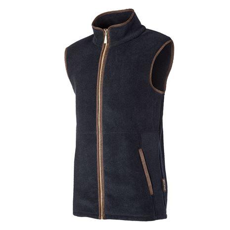 Baleno Highfield Men's Fleece Gilet - Navy Blue