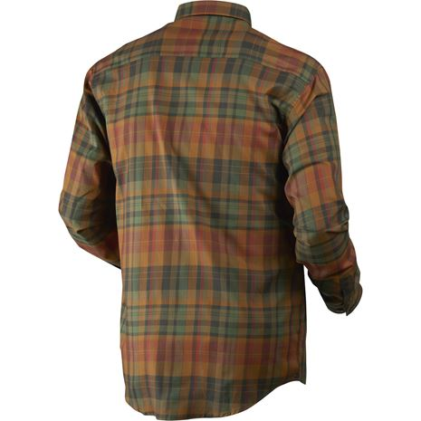 Harkila Newton Checked Shirt - Rear Spice Check