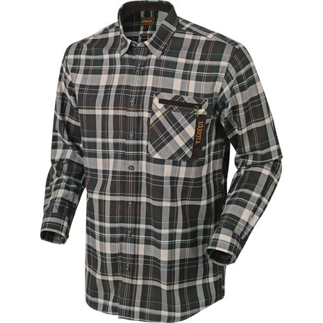Harkila - Newton Shirt - Willow Green Check
