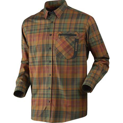 Harkila Newton Checked Shirt - Spice Check