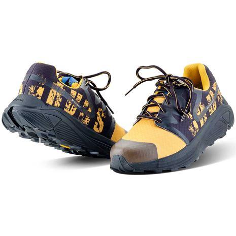 Grubs Discover Trainer Shoes - Black Burst