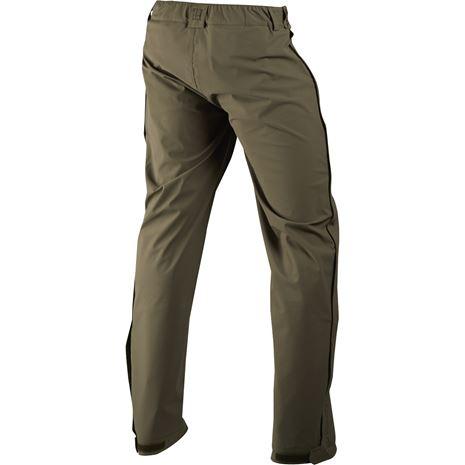 Harkila Orton Packable Trousers - Rear Willow Green