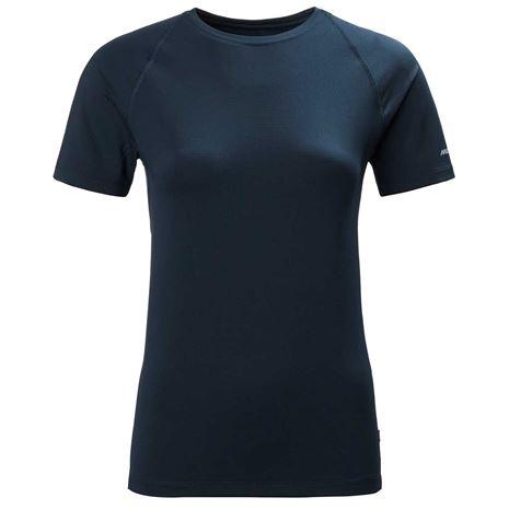 Musto Women's Evolution Sunblock Short Sleeve T-Shirt 2.0 - True Navy