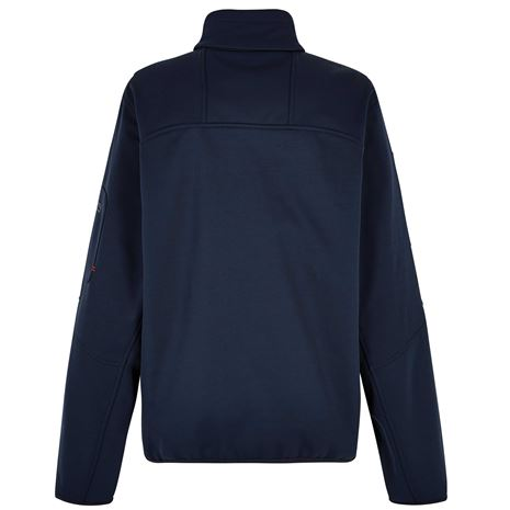 Dubarry Ibiza Unisex Softshell Jacket - Navy - Rear