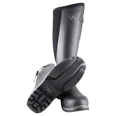 Woof Wear Riding Welly Boot - Black