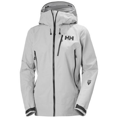 Helly Hansen Women's Odin 9 Worlds Infinity Jacket - Grey Fog