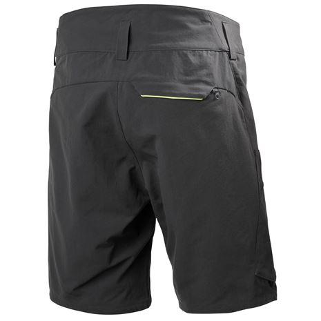 Helly Hansen Crewline Cargo Shorts - Ebony - Rear