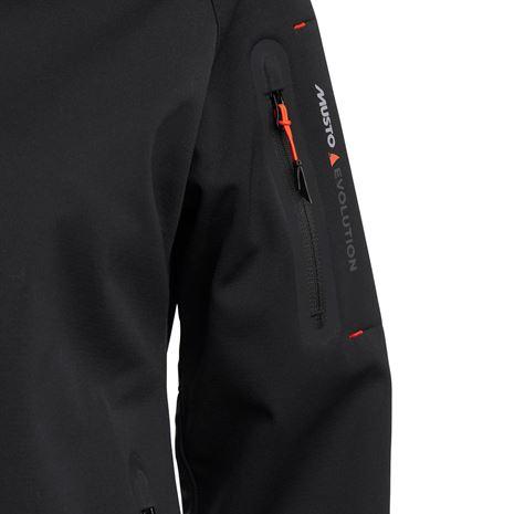 Musto Women's Crew Softshell Jacket - Black