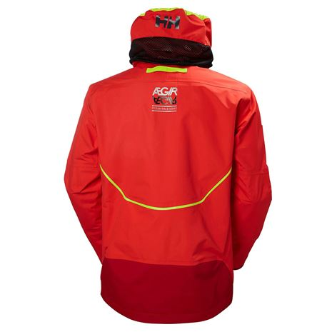 Helly Hansen Aegir Race Jacket - Alert Red