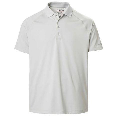 Musto Evolution Sunblock Short Sleeve Polo 2.0 - Platinum